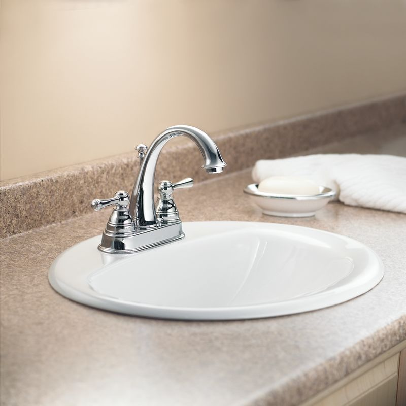 Wrought Iron Bathroom Faucets: 6121WR In Wrought Iron By Moen