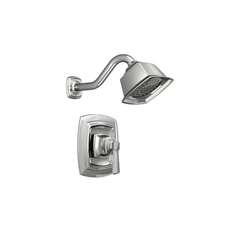 moen 82835 chrome shower trim with pressure balanced valve and single