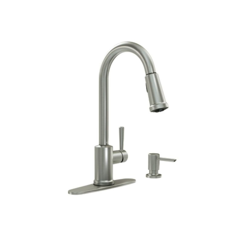 faucet com 87090msrs in spot resist stainless by moen