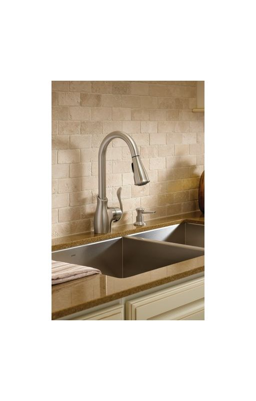 faucet com ca87006srs in spot resist stainless by moen