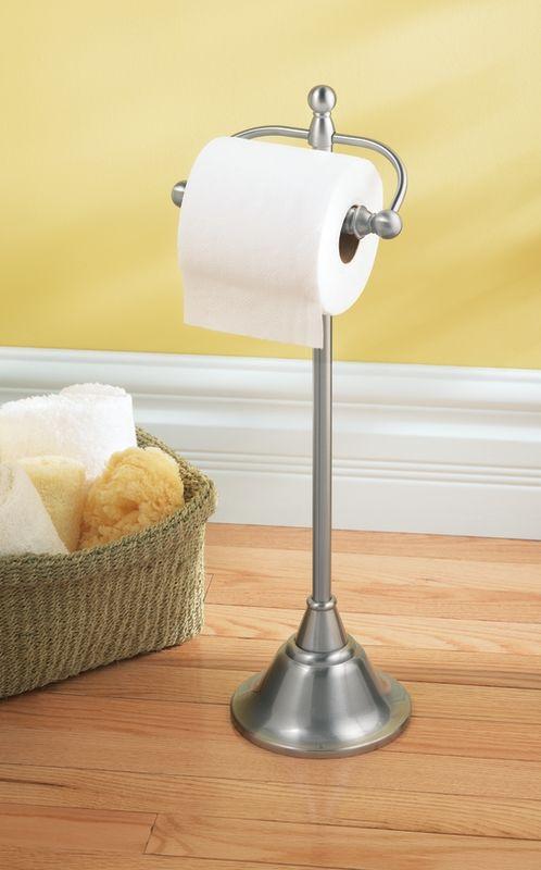 Csidn6850bn in brushed nickel by moen - Free standing toilet paper holders brushed nickel ...