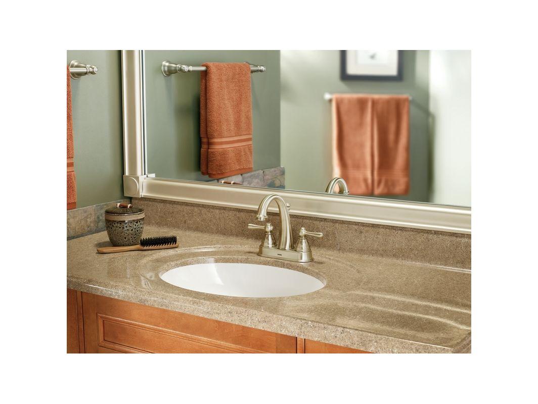 Bathroom Mirror Brushed Nickel: CSIMK8011BN In Brushed Nickel By Moen