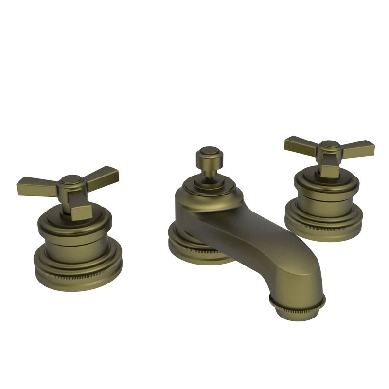 1600 06 in antique brass by newport brass Antique brass faucet bathroom