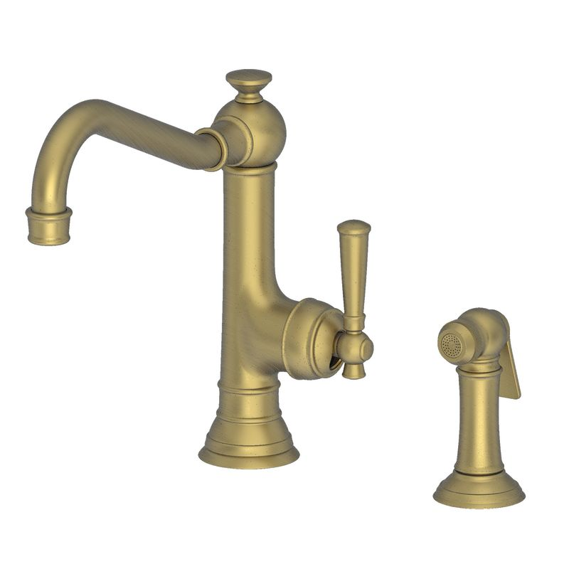 Newport Brass 2470-5313/06 Antique Brass Jacobean Single Handle ...