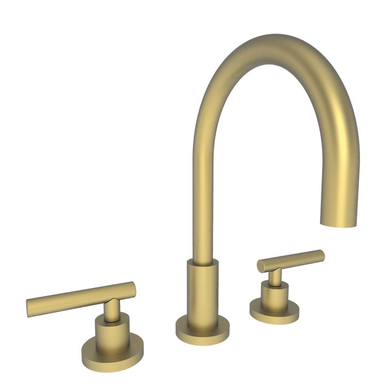 990l 06 in antique brass by newport brass Newport brass bathroom faucets