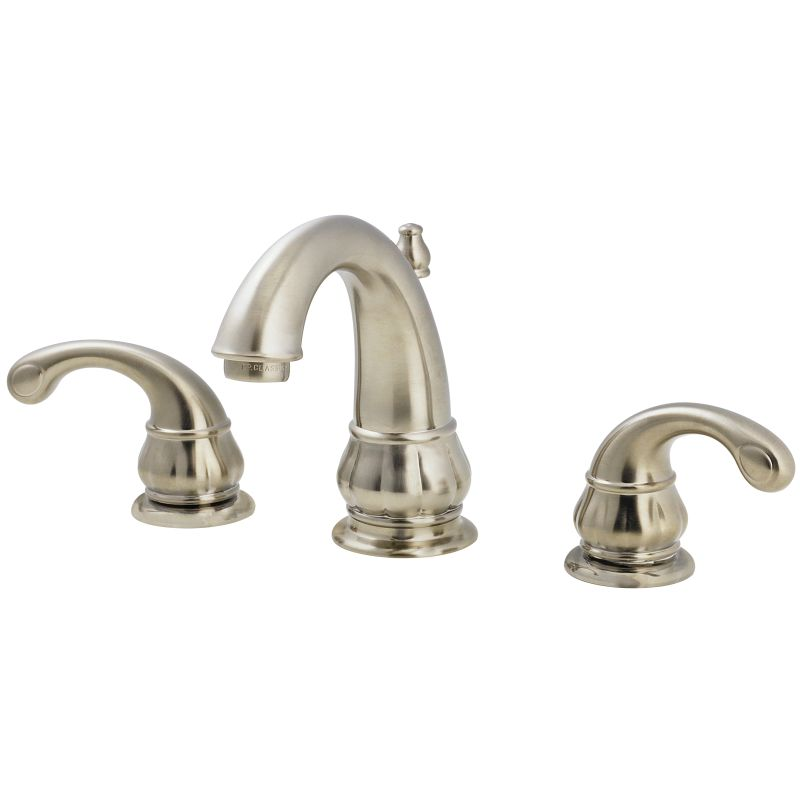 Widespread Bathroom Faucet Clearance : ... 049-DK00 Brushed Nickel Treviso Widespread Bathroom Sink Faucet