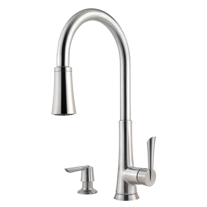faucet com f 529 7mds in stainless steel by pfister