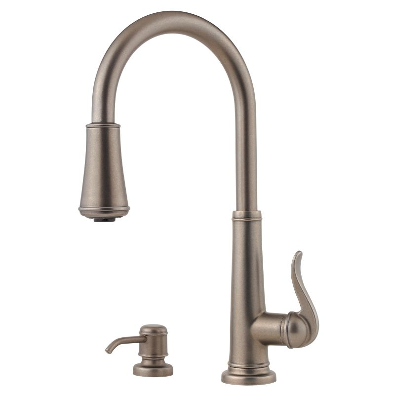faucet gt529 ypk in brushed nickel by pfister