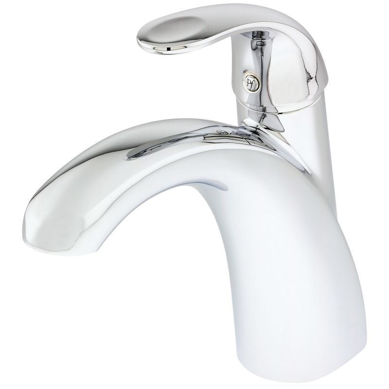 ... Polished Chrome Parisa Single Handle Deck Mounted Roman Tub Faucet