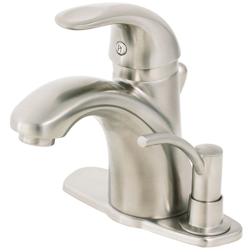 Pfister Parisa Bathroom Faucet: T42-VKSP In Brushed Nickel By Pfister