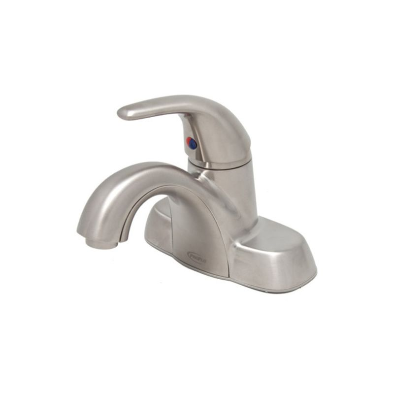 Pfws4744bn in brushed nickel by proflo for Bathroom faucets for less