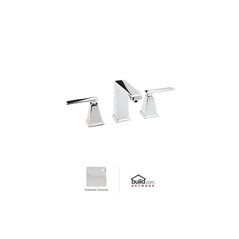 Rohl Bathroom Faucets : Rohl A1008LVAPC-2 Polished Chrome Vincent Widespread Bathroom Faucet ...