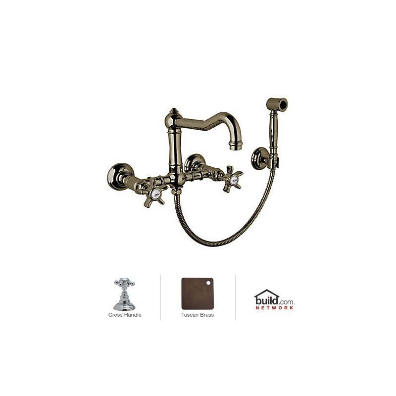 Faucetcom A1456XMWSTCB 2 in Tuscan Brass by Rohl