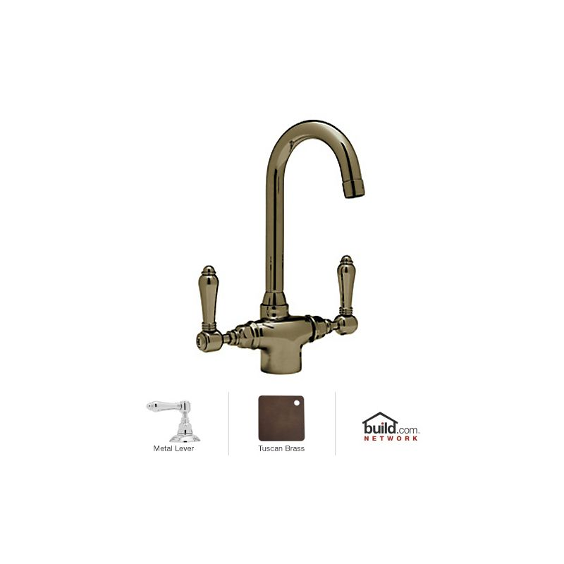 faucet a1667lmib in inca brass by rohl