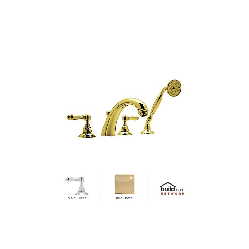 Brilliant Rohl A2104LMIB Inca Brass San Julio Roman Tub Faucet with Metal Lever  500 x 500 · 19 kB · jpeg