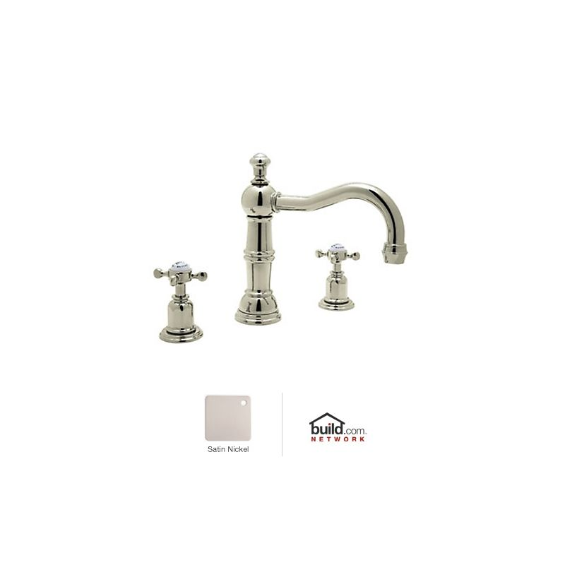 In Satin Nickel By Rohl