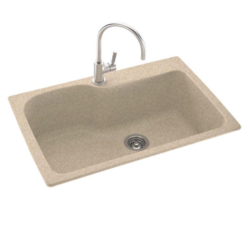 Swanstone KS03322SB.063 Cornflower Kitchen Sink Single Basin Swanstone ...
