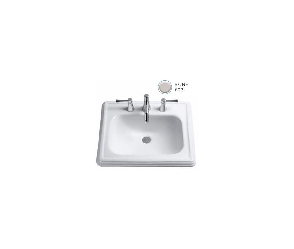 faucet com lt531 8 03 in bone by toto