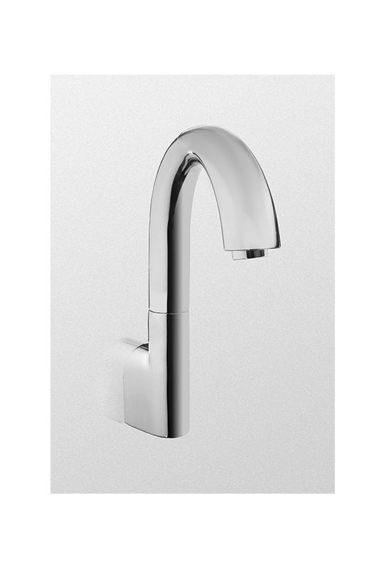 tel5ggw10 cp polished chrome wall mounted electronic bathroom faucet