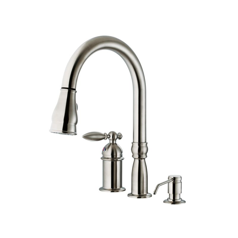 faucet vg02015st in stainless steel by vigo
