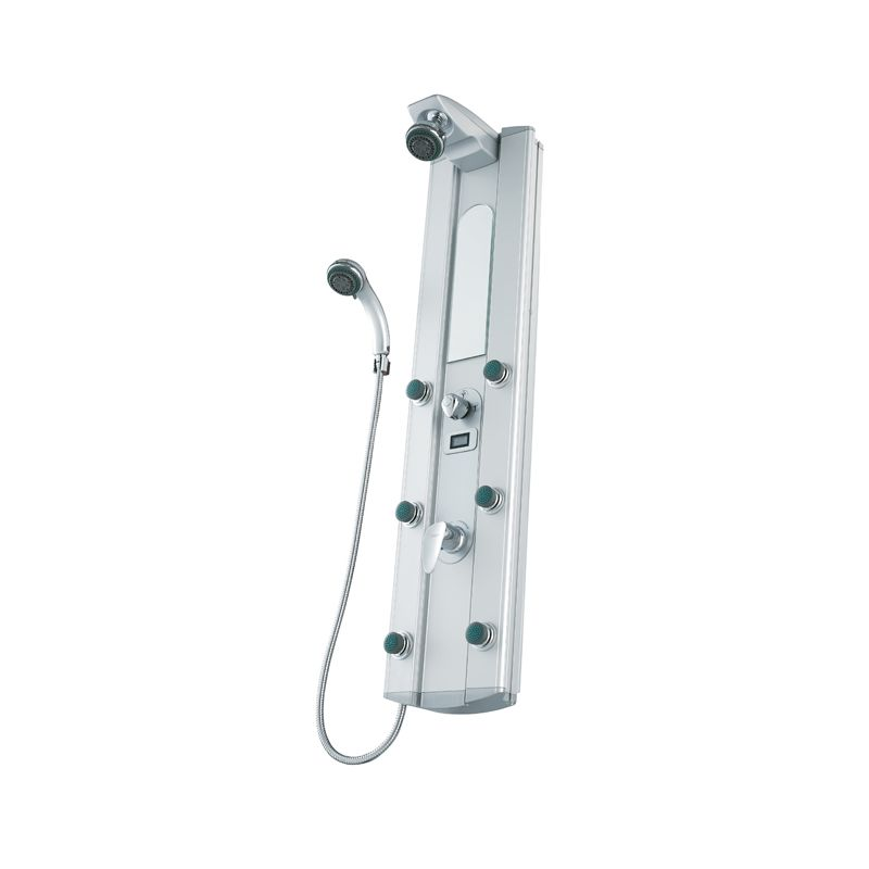Bathroom Shower Hardware : Vigo Shower Panels and Shower Fixtures