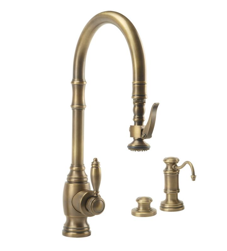 Tuscan Bathroom Faucets: 5600-3-TB In Tuscan Brass By Waterstone