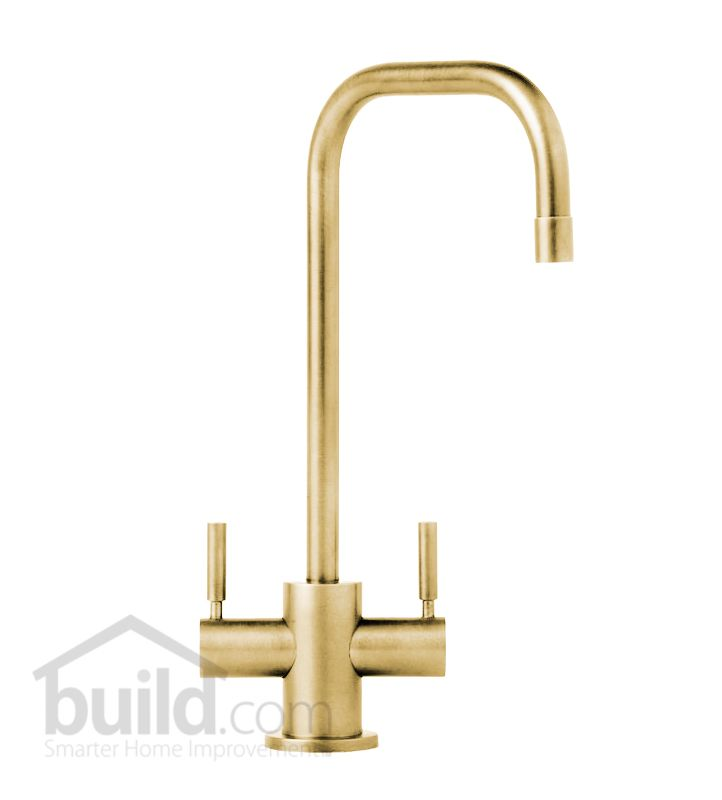 Brass Faucet : Waterstone 1625-PB Polished Brass Fulton Bar Faucet Double Handle