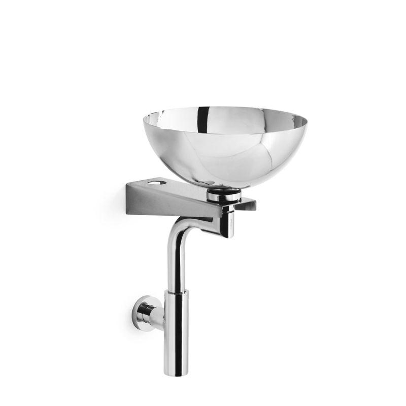 Stainless Steel Bathroom Sinks : 29 Stainless Steel 11-2/5
