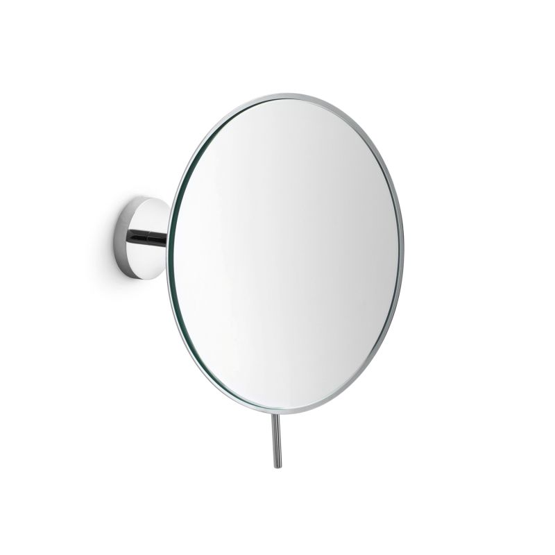Mevedo 55963 in polished chrome by ws bath collections Polished chrome bathroom mirrors