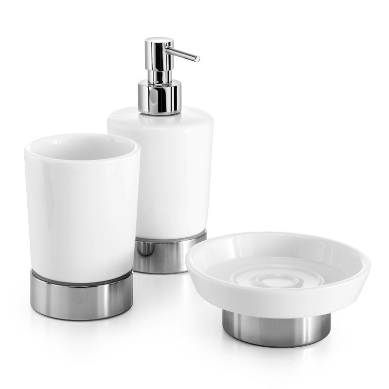 WS Bath Collections Saon 4071 Porcelain White Set of One Ceramic ...