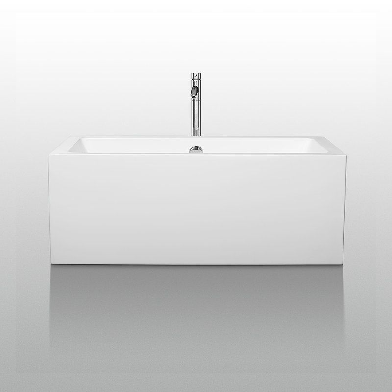 wcobt101160 white melody 60 free standing acrylic soaking tub