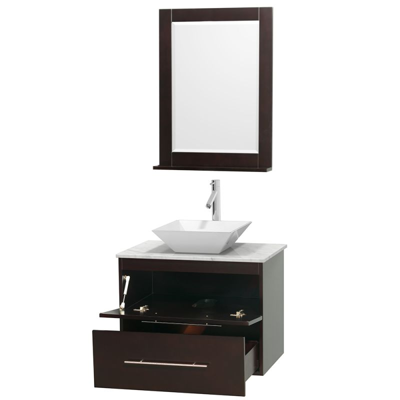 24 Vanity With Vessel Sink : Click to view larger image