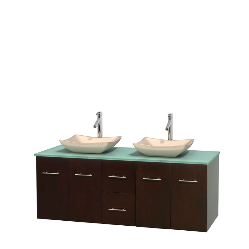 ... Top, 2 Vessel Sinks, and 58