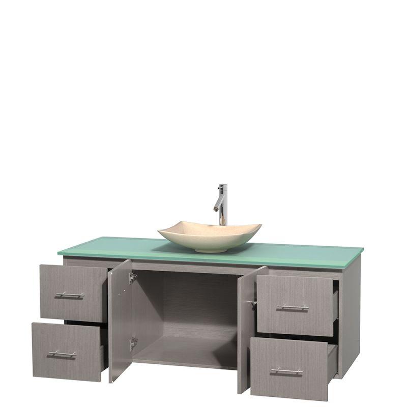 Glass Vanities And Sinks : Sink 60
