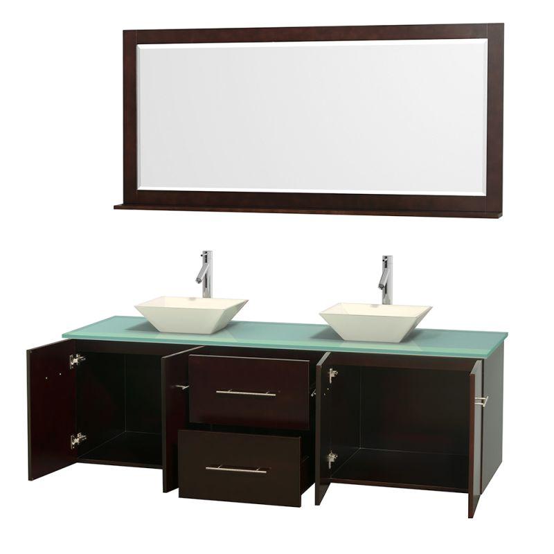 Glass Vanities And Sinks : Marble Sink 72