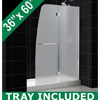 Shop DreamLine Shower Door & Tray Combos