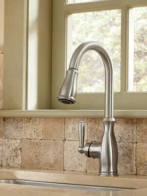 Moen 7185 Brantford Collection Kitchen Faucet