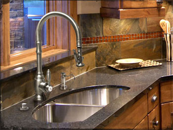 Waterstone 5500 Annapolis Kitchen Faucet with Pull Out Spray