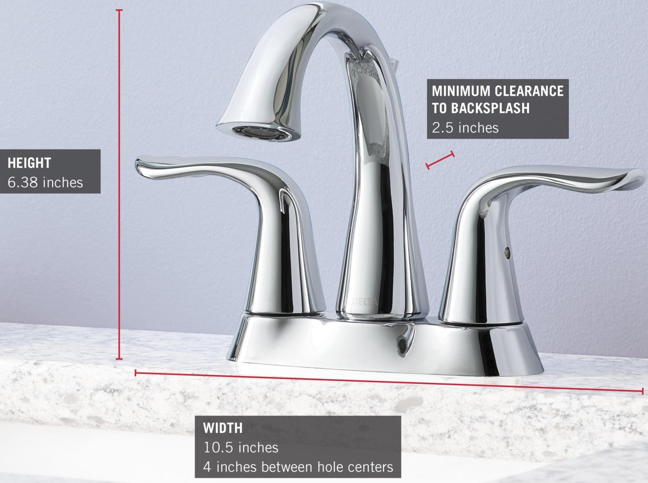 Delta Lahara Faucet Parts Delta Lahara Faucet In Champagne Bronze Finish Mhi Interiors Delta