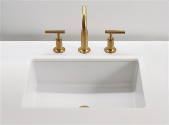 Embrace A Sophisticated Look With Verticyl Featuring Vertical Sides For Deep Geometric Basin An Under The Counter Installation Allows This Sink To