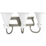 P3147 Progress Lighting Lockwood 3 Light Bathroom Fixture