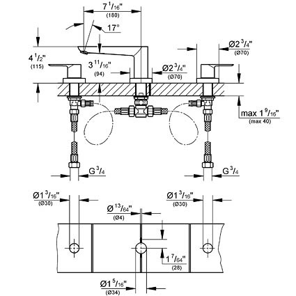 Symmons roman tub fillers likewise 3581794 likewise  furthermore F1798215 also Bathtub Diverter Parts. on flow tub spout diverter diagram