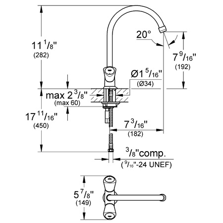 grohe shower cartridge replacement instructions